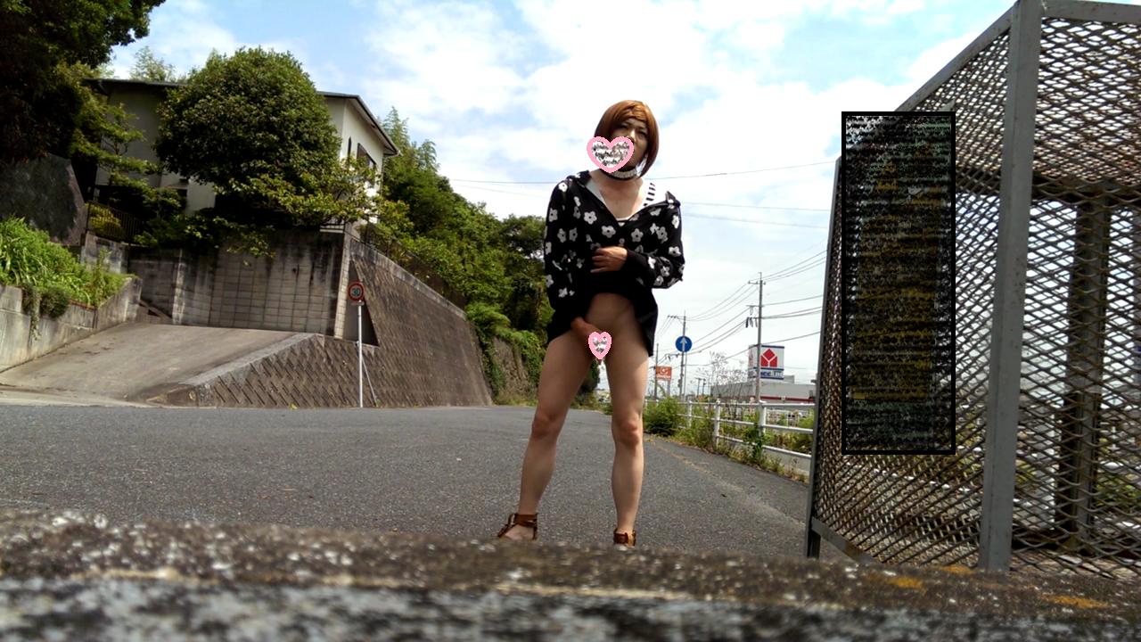 女装子まあさの露出自撮り動画 10