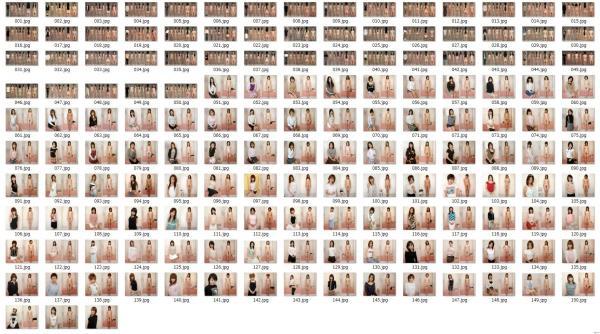 着衣と裸 画像集